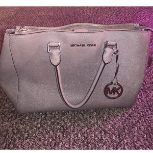 Michael Kors Pre-Owned Jet-Set Saffino tote-Grey
